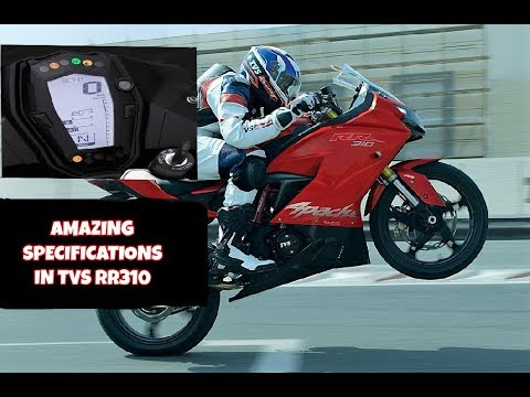 AMAZING SPECIFICATIONS IN TVS RR310