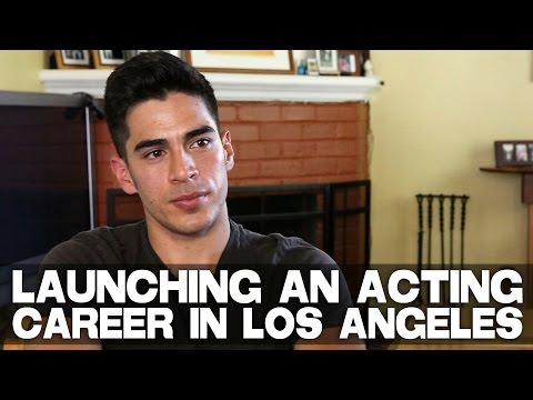 Launching An Acting Career In Los Angeles - Full Film Courage Interview with Michael Galante