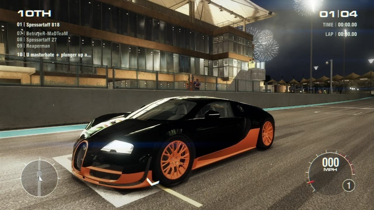 Bugatti Veyron Super Sport Hd Wallpaper Grid 2 Pc Multiplayer Gameplay Tier 4 World Record