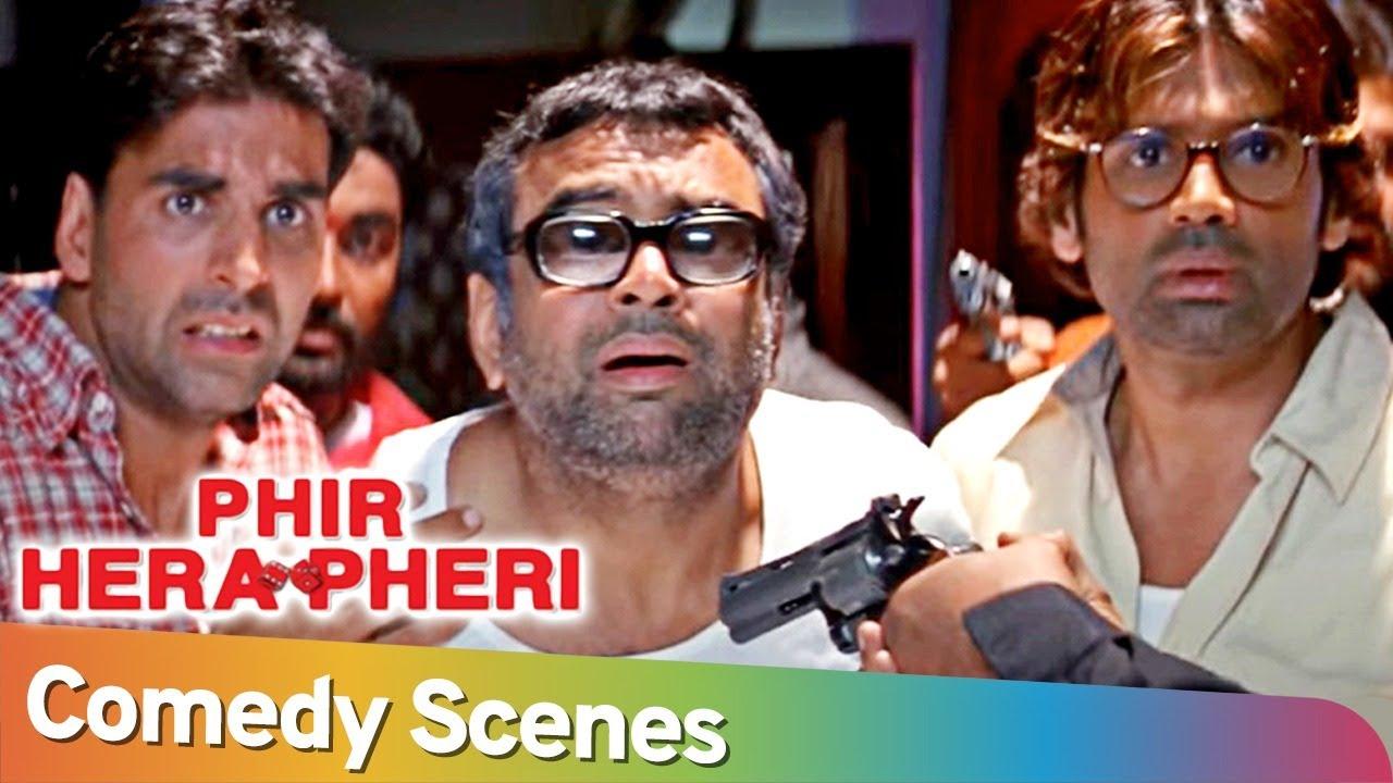 Download Phir Hera Pheri | Akshay Kumar - Paresh Rawal - Rajpal Yadav - Johny Lever | Non-Stop Comedy Scenes