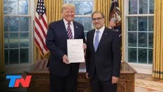 Según el embajador argentino en EEUU, Trump prometió ayudar a Alberto Fernández con la deuda