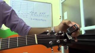 Hướng dẫn lên dây đàn Guitar bằng Tuner