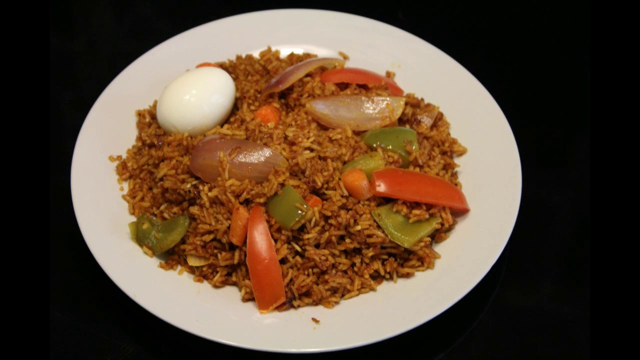 Ghana jollof rice corned beef and vegetable jollof food youtube ghana jollof rice corned beef and vegetable jollof food ccuart Gallery