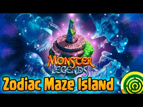 Monster Legends: Laberinto Zodiacal [Zodiac Maze Island] #1