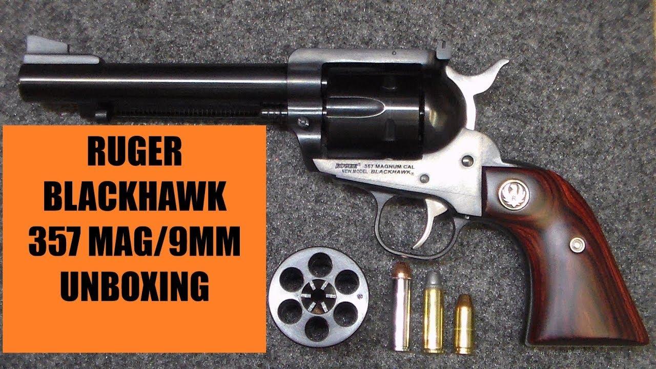 Ruger 357 magnum revolver blackhawk