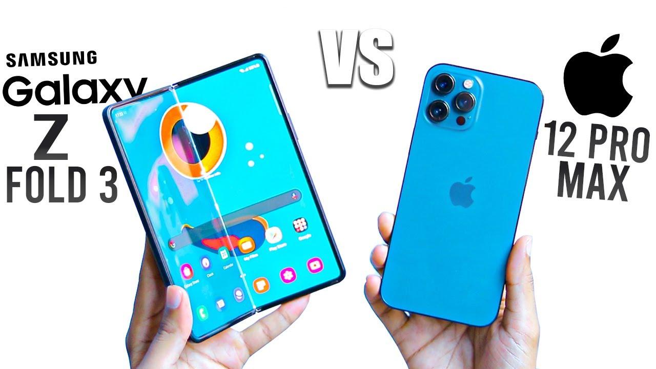 Samsung Z Fold 3 vs iPhone 12 Pro Max - Best Pick Under Rs 1.5 Lakh ?
