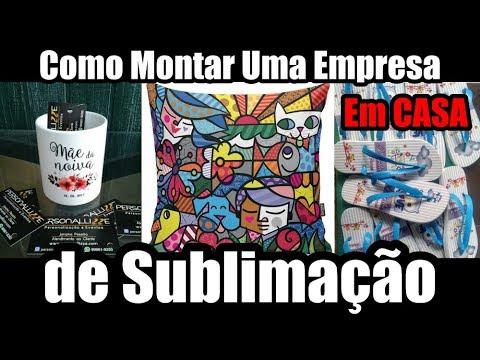 Como Montar Uma Empresa de Sublimação Em CASA - Aula Completa from YouTube · Duration:  6 minutes 12 seconds
