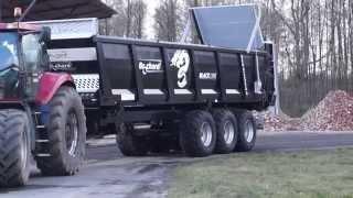 Rozrzutnik obornika Brochard Black Line 30T. Manure spreader Brochard in Poland épandeur à fumier