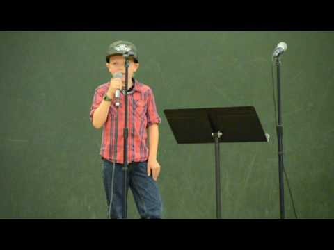 Liam Chatham 9 years old sings