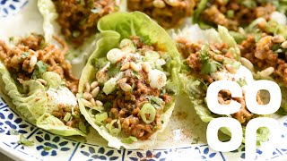 Co-op Food | How to Make Spiced Lamb Lettuce Cups