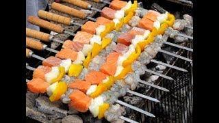 Лучшие рецепты. Шашлык из рыбы