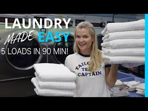 RV LIFE: Unconventional Laundry Tips That Will Save You Time!