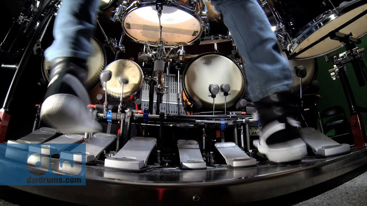 Marco Iannetta Plays PDP Concept Series Drums Pedals By DW 100 GoPro