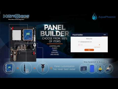Introducing Panel Builder from H2trOnics