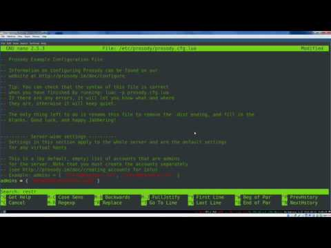 30-minute Practical Linux Project: XMPP Chat Server Setup, Start To Finish