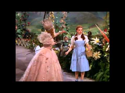 the wizard of oz dorothy arrives in munchkinland sync