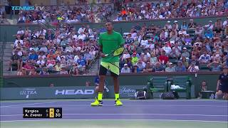 Nick Kyrgios best tweenerhot dog shots