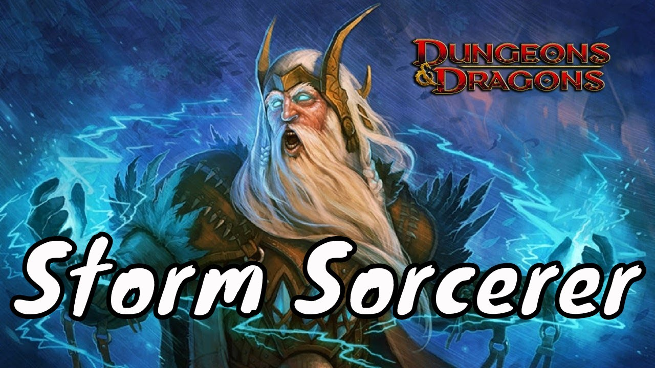 Xanathar's Guide to the Storm Sorcerer (D&D 5e)