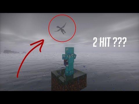 ENDER DRAGON KELAR HANYA 2 KALI HIT | Minecraft