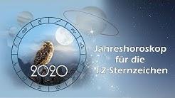 Jahreshoroskop 2020 für die 12 Sternzeichen