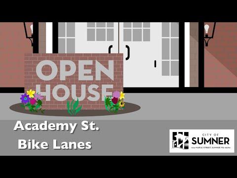 Academy Street Bike Lanes