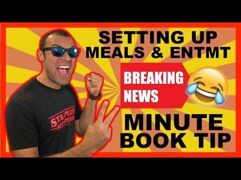 2 Minute Book Tip | Best Way To Setup Meals and Entertainment Tax Deduction Under The New Tax Reform