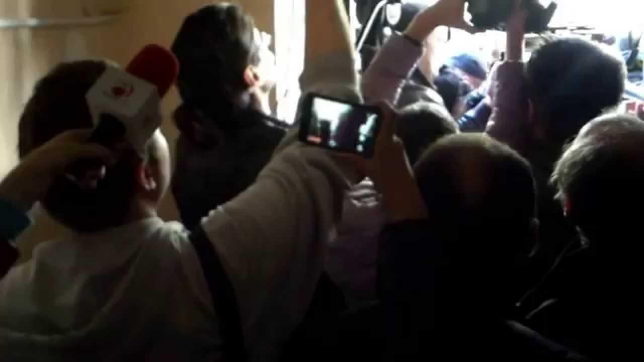 Protest la Judecătoria Rîșcani pe durata procesului celor 7