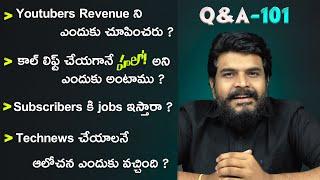 Q&A 101 With Prasadtechintelugu