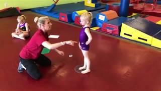 How to video - Kİds Cartwheel Gymnastics activity