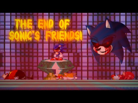 Sonic.exe: Nightmare Beginning FINAL UPDATE Worst ending Sonic.exe is winner