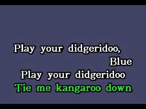 DK094 13   Harris, Rolf   Tie Me Kangaroo Down [karaoke]