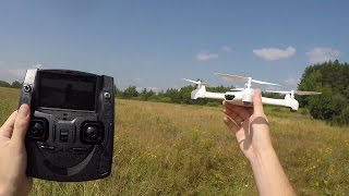 Самый дешевый FPV квадрокоптер с GPS ... Hubsan X4 H502S FPV