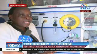 Kenya Red Cross on safety awareness training