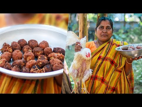 Village Food: Chicken Potatoes Chop Making Recipe by Village Food Life