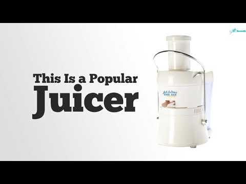 Jack Lalanne JLPJB Power Juicer Juicing Machine Review