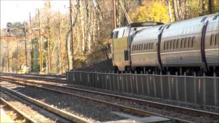 The Pennsylvanian train 42 with Phase 3 Heritage P42 145