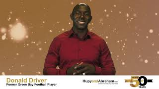 50 Years of Stellar Service - Donald Driver Wishes Hupy and Abraham A Happy Anniversary