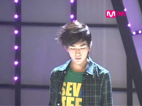 080918 SHINee Romantic Rehearsal Onew Focus