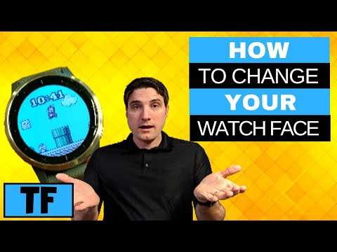 GARMIN VIVOACTIVE 4 - How To Change Watch Face (2020) | How To Customize Clock Faces