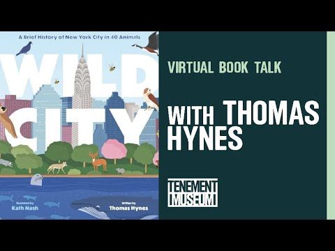 Virtual Book Talk: Wild City