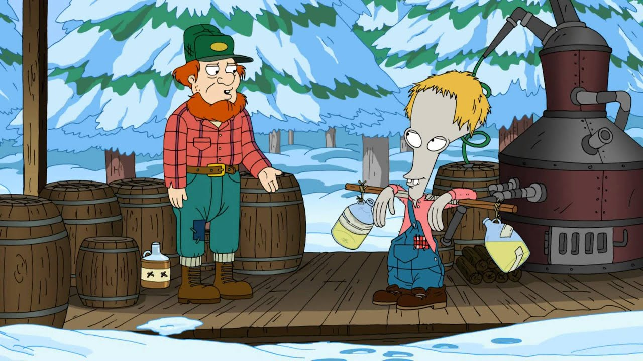 for whom the sleigh bell tolls - American Dad Christmas Episode