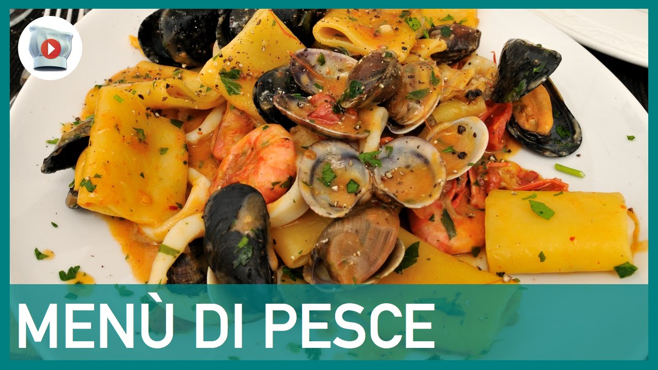 Men di pesce youtube for Ricette a base di pesce