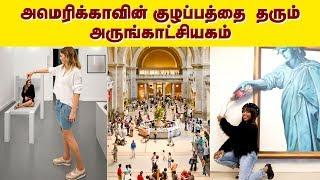 அமெரிக்காவில் குழப்பத்தை  தரும் அருங்காட்சியகம்!! | America Museum of Illusions | IBC Tamil