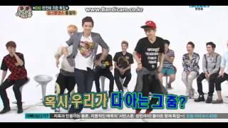 130814 EXO weekly idol Luhan dance nonono Apink
