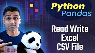 Python Pandas Tutorial 4: Read Write Excel CSV File