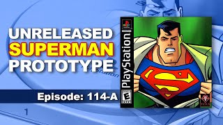 Superman Prototype Review & Discussion  | PlayStation / PSX | GameRaveTV Ep. 114-A