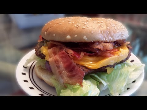 Carl's Jr. Six-Dollar EPIC Super Bacon Cheeseburger (Review & Destroy)