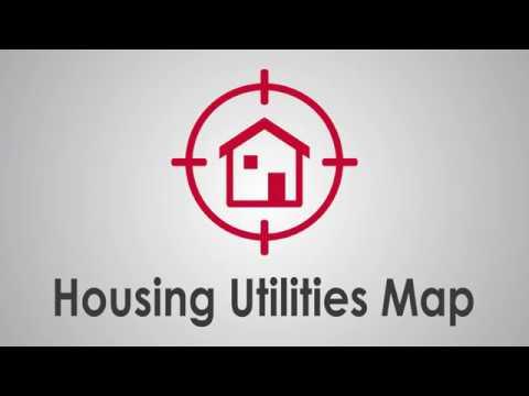 Housing Utilities Map