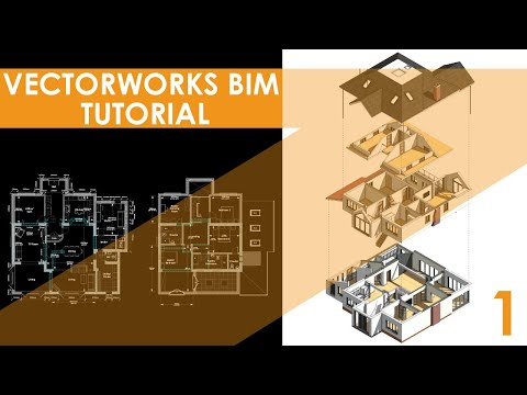 Vectorworks BIM Tutorials- A Large Residential Extension