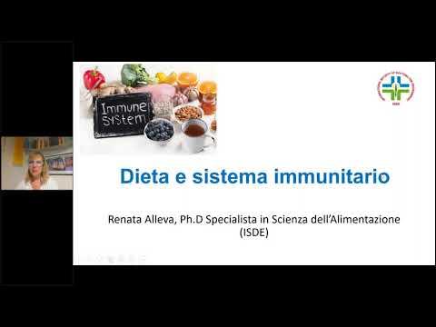 Alimentazione e sistema immunitario - Webinar 14 aprile 2020
